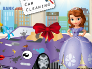 Online game Sofias new car cleaning