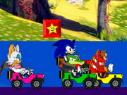Online game Sonic Stars Race