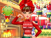 Online game Special Christmas Hairstyles