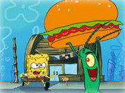 Sponge Bob and Krabsburger Secret