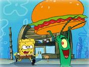 Online igrica Sponge Bob and Krabsburger Secret