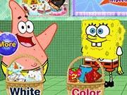 Spongebob and Patrick Star Washing Pants