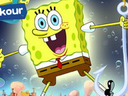 Online game Spongebob Bubble Parkour