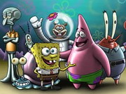 Online game Spongebob Friends Memory