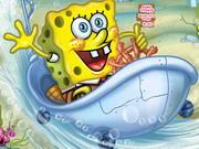 Online game Spongebob's Bathtime Burnout 2