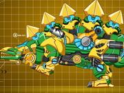 Steel Dino Toy: Mechanic Stegosaurus