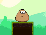 Online igrica Stick Pou Adventure free for kids