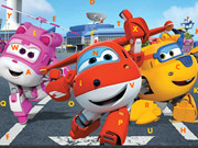 Super Wings Hidden Letters