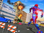 Superhero Police Speed Hero: Rescue Mission