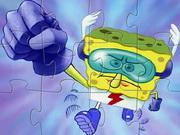 Superhero SpongeBob Puzzle