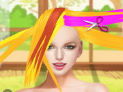 Online game Taylor Swift Fantasy Hairstyle