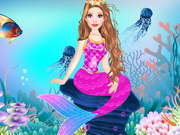 Online igrica The Little Mermaid Dress Up
