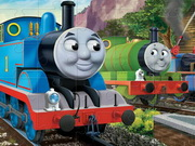 Online game Thomas Jigsaw Puzzle