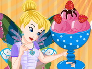 Tinkerbell Special Strawberry Ice Cream