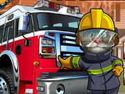 Online game Tom Become Fireman