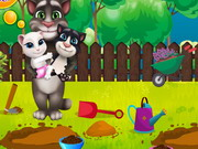 Online game Tom Family Gardening
