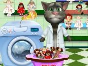 Online game Tom Washing Dolls
