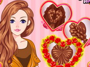 Online game Valentines Day Hairdos