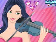 Violinist Valerie Makeup