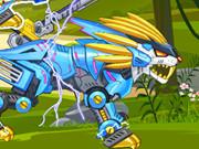 Zoo Robot: lion