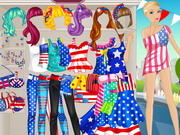 Online game Barbie Usa