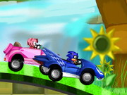 Online game Sonic Racing Zone