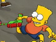 The Simpsons Shooting Game