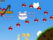 Online game Angry Birds Cannon 3