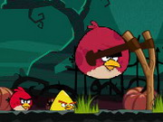 Online game Angry Birds Halloween Hd