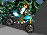 Online game Ben10 Halloween Bike
