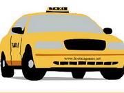 Online igrica Cartoon Taxi Jigsaw