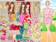 Online igrica Floral Barbie