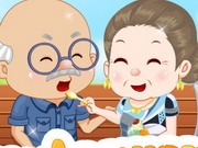 Online igrica Grandparents Ice Cream Date