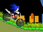 Online game Sonic Halloween Racing