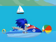 Online game Super Sonic Ski