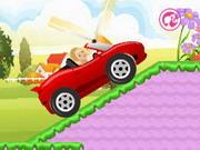 Barbie Car Racing Games Gahe