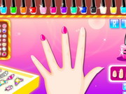 Online game Colorful Manicure Show