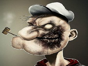 Online game Popeye Zombie Puzzle