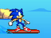Online game Sonic Surf
