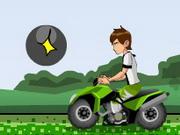 Online game Ben 10 Atv Escape