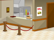 Online game Must Escape The Burger Joint