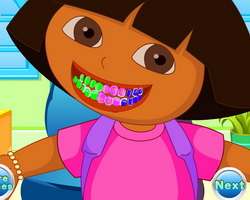Dora Tooth Decoration