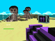 Bad Guys Heavy Weapons And Friends On A Minecraft Island