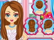 Barbie esküvői frizurája
