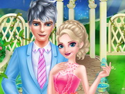 Elsa and Jack Frost Date Game