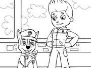Paw Patrol Jakie Coloring Pages