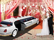 Luxury Wedding Limousine Car