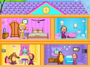 Masha And The Bear Dollhouse Game 2 Play Online